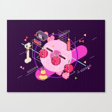 Tasty Visuals - Cherry Picker Canvas Print