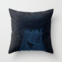 Night Sky Throw Pillow