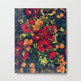 Vivid Jungle Metal Print