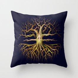 Eldritch Tree Throw Pillow