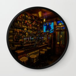 Old Irish Pub Wall Clock