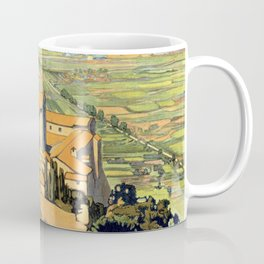 Vintage Litho Travel ad Assisi Italy Coffee Mug