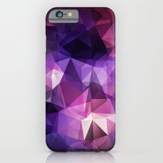 Stylish geometrical print with polygonal triangles iPhone 6s Slim Case