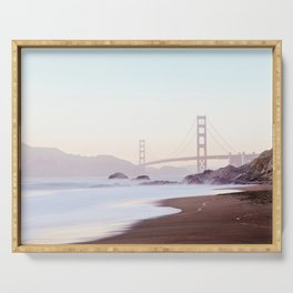 Golden Gate Bridge, San Francisco Photography Serving Tray