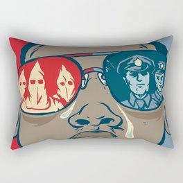 Dreaming While Black Rectangular Pillow