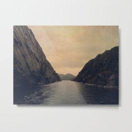 mountains - follow your heart Metal Print