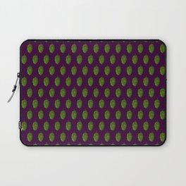Hops Dark Purple Pattern Laptop Sleeve