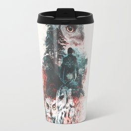 Not What They Seem Inspired by Twin Peaks Travel Mug