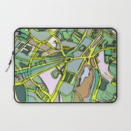 Abstract Map Brookline Laptop Sleeve