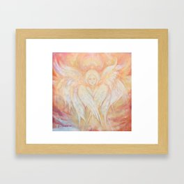 Seraphim Framed Art Print