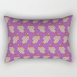 Grape Fox Rectangular Pillow