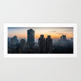 Mumbai sunrise Art Print