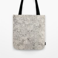 infinite Tote Bags featuring Infinite Love by Marcelo Romero