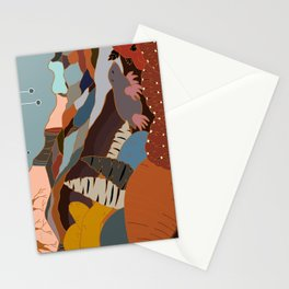 the joy of being Six-feet-under Stationery Cards
