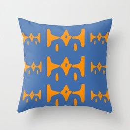 Strange Electric Wave Throw Pillow