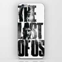 the last of us iPhone & iPod Skins featuring The Last of Us by Tatiana Anor