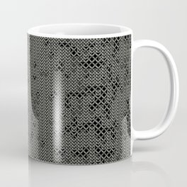 Chain Mail Texture Coffee Mug
