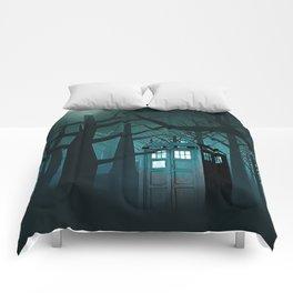 Tardis Nightmare Comforters