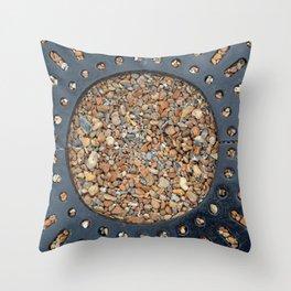 Pebble Circle Throw Pillow