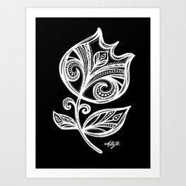 White Flower 111 Art Print
