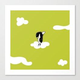 Flying Pengiun by McKenna Sanderson Canvas Print