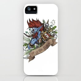 Warchief iPhone Case