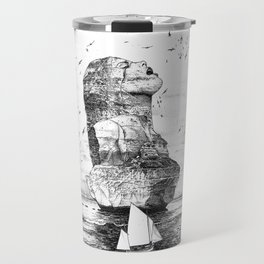 asc 757 - La nostalgie est une île (The remains) Travel Mug