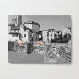 Split, Croatia City Photography and A Couple Hands Metal Print
