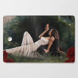 The Woods Are Lovely, Dark and Deep Cutting Board