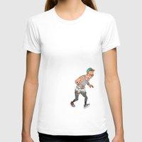 tintin T-shirts featuring Streetwear Tintin by Derek Boman