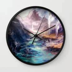 Polluted Delta Wall Clock