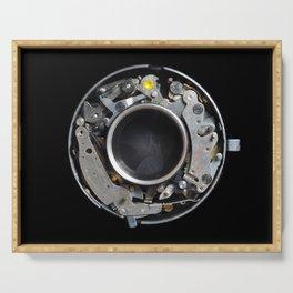 Vintage Mechanical Camera Sutter Mechanism Serving Tray