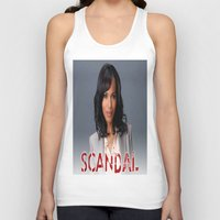 scandal Tank Tops featuring SCANDAL by I Love Decor