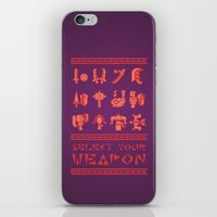 monster hunter iPhone & iPod Skins featuring Monster Hunter: Select Your Weapon by KEITHXIII