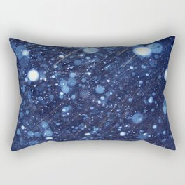 Snow talk 2 Rectangular Pillow
