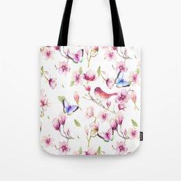 Magnolia Flight Tote Bag