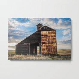 Grain Elevator 6 Metal Print