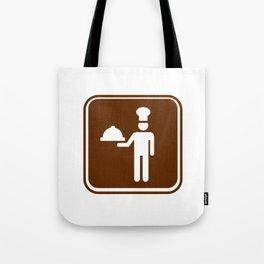 """Urban Pictograms """"Cuisine"""" Tote Bag"""