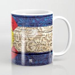 Colorado Flag Royal Stain Coffee Mug