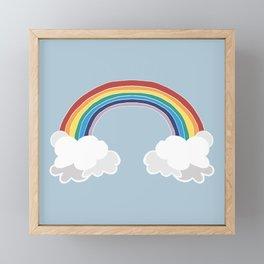 Over The Rainbow Framed Mini Art Print