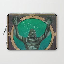 Creature From the Black Lagoon Nouveau Laptop Sleeve
