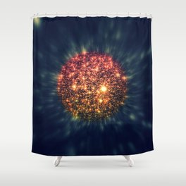 coming to a galaxy near you Shower Curtain