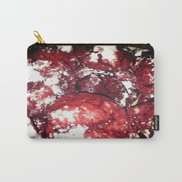 Powdered Red Velvet Carry-All Pouch