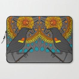 redwing blackbird and pentagon Laptop Sleeve