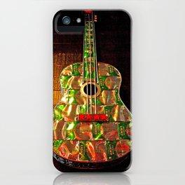 Heineken guitar iPhone Case