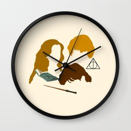 Wizard Trio Wall Clock