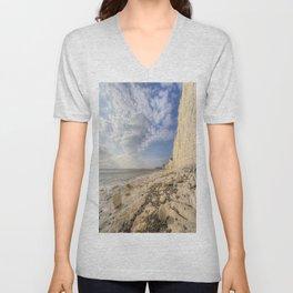 White Cliffs Of England Unisex V-Neck