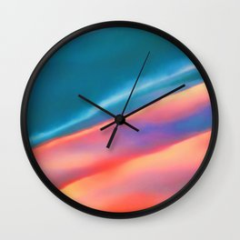 Merging #abstract #decor #society6 #buyart Wall Clock