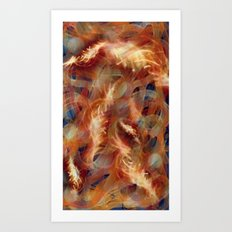 Electricity crush Art Print