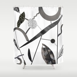 Abstract Botanica - 2 Shower Curtain